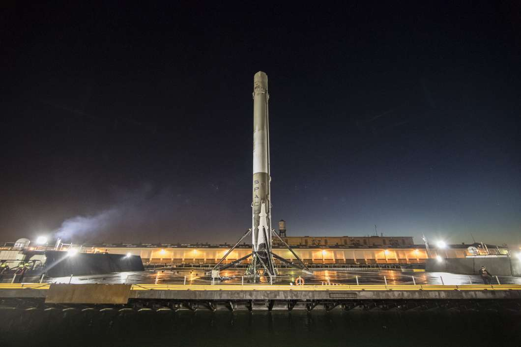 Watch SpaceX's first rocket launch this weekend right here