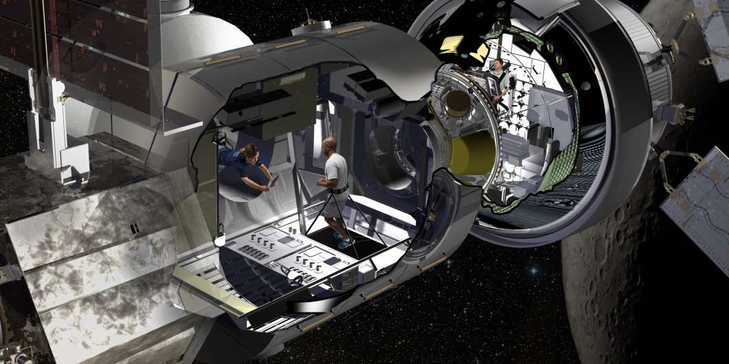 Nasa gives green light for Lockheed Martin deep space module