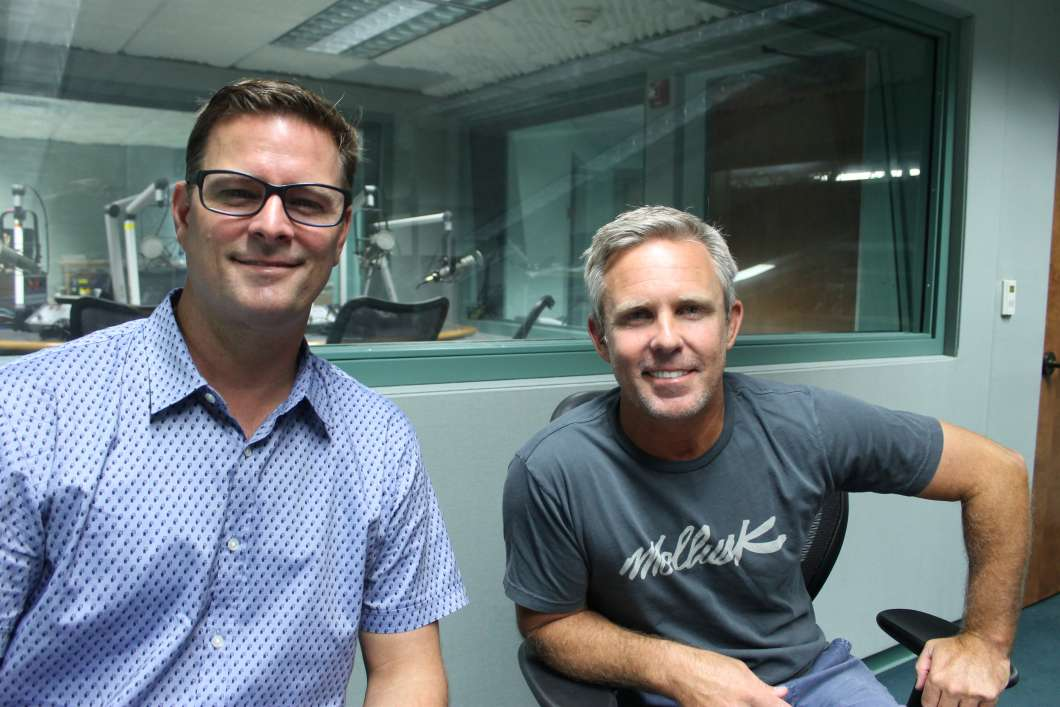 Kevin Miller (l) and John Brooks. Photo: Matthew Peddie, WMFE