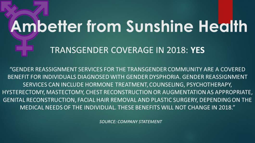 Therapy Florida In Gender Reassignment Of Cost