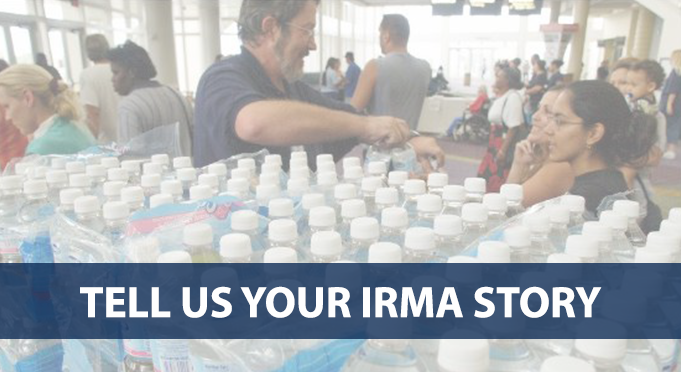 If possible — and if you're in a safe place — we'd like to follow your whole story before, during and after the storm. You can choose a way to talk to us.