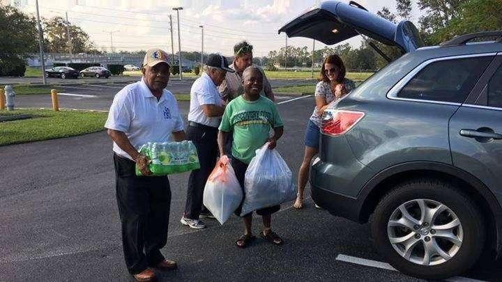 CASA donation collection. Photo courtesy of Socorro Ramos-Avilés.