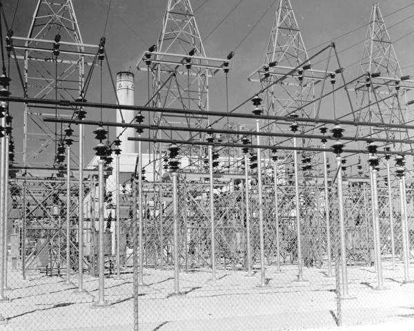 The Florida Power and Light plant at Riviera Beach, circa 1947. Photo: State Library and Archives of Florida