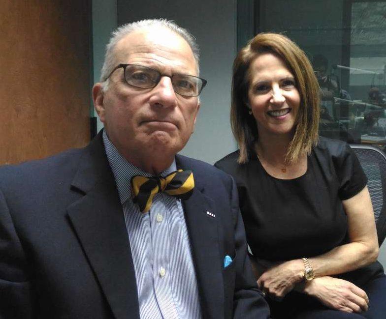 Hal Kushner and Lynn Novick. Photo: Matthew Peddie, WMFE