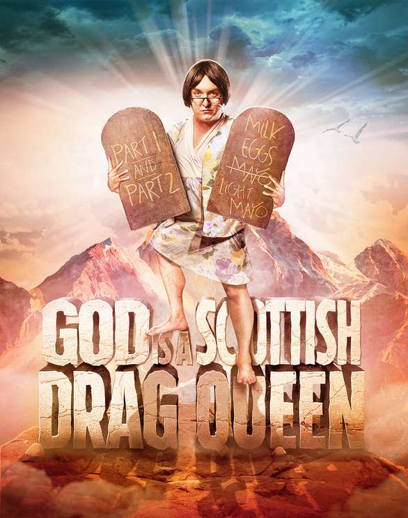 Image: Mike Delamont, God is a Scottish Drag Queen, mikedelamont.com