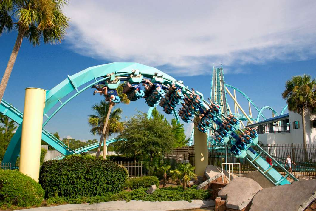 SeaWorld Orlando found success by freshening up the Kraken roller coaster with virtual reality technology. Photo: Wikimedia Commons