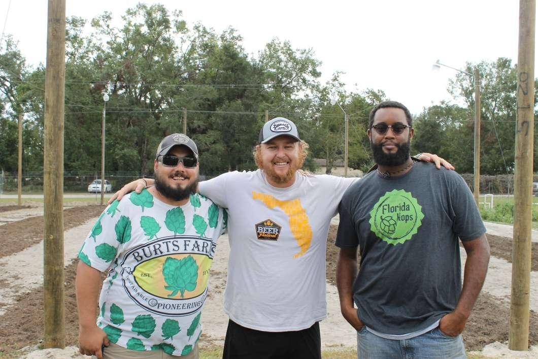 (L-r) Ricky Burts, Matt Roberts & Richard Smith. Photo: Matthew Peddie, WMFE