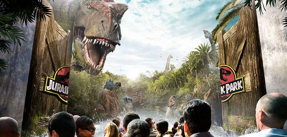 "Advanced Animations created many of the animatronics dinosaurs at Universal Studio's ""Jurassic Park."" Photo: Universal"