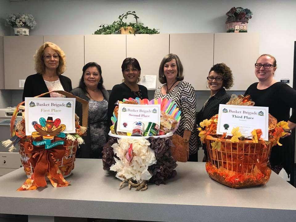 Osceola School staff provided around 300 baskets this year. Photo: Facebook.