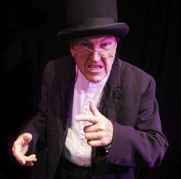 "Photo: David A. McElroy- One Man ""A Christmas Carol"""