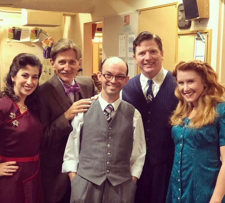 "Image: Orlando Shakes ""It's a Wonderful Life"" cast, instagram.com"