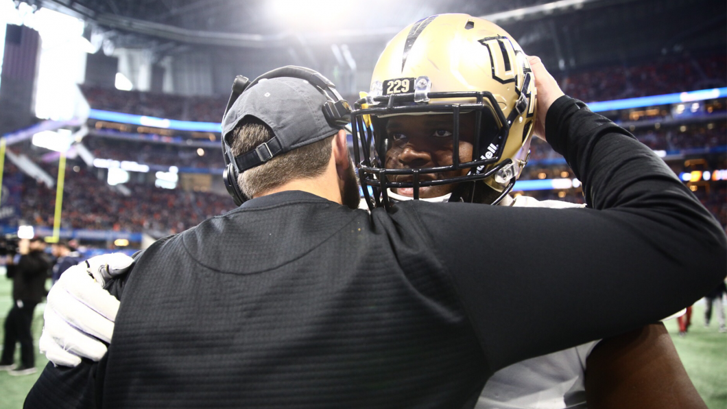 UCF defeated Auburn in the Peach Bowl New Years Day. Photo: UCF Football
