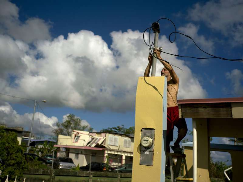 Puerto Rico set to privatize electric utility