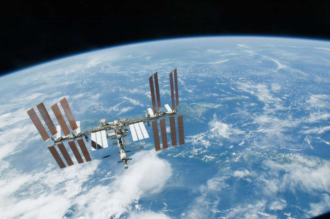 The International Space Station. Photo: NASA