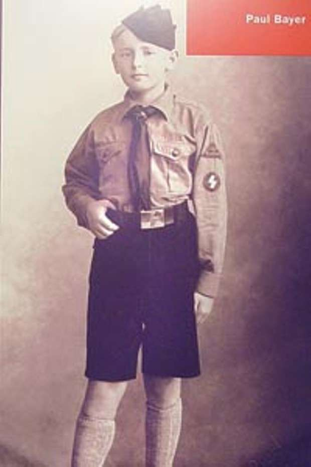 Image: Paul Bayer, who was inducted into the Hitler Youth at age 10 and died at age 17 in Nuremberg, valenciacollege.edu