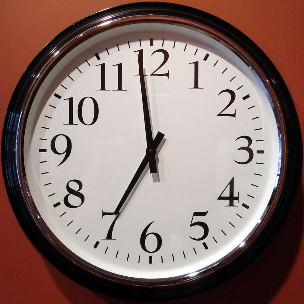 Daylight saving time starts this weekend