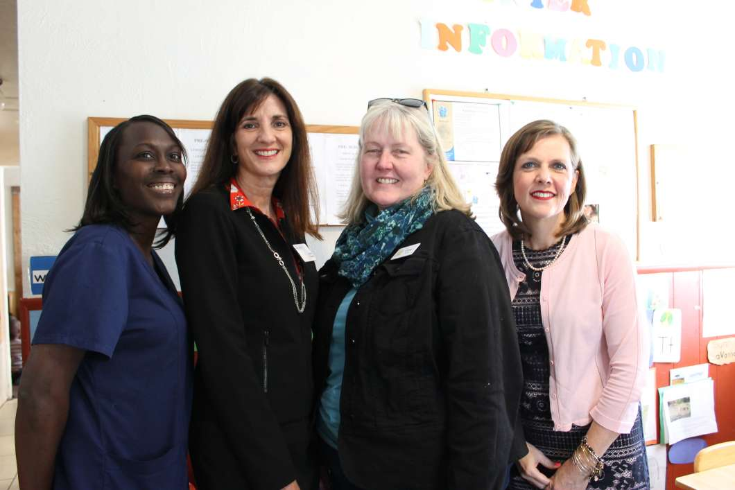 Regina Teer, Leslie Hartog, Cindy Jurie, Kimberly Renk. Photo: Matthew Peddie, WMFE