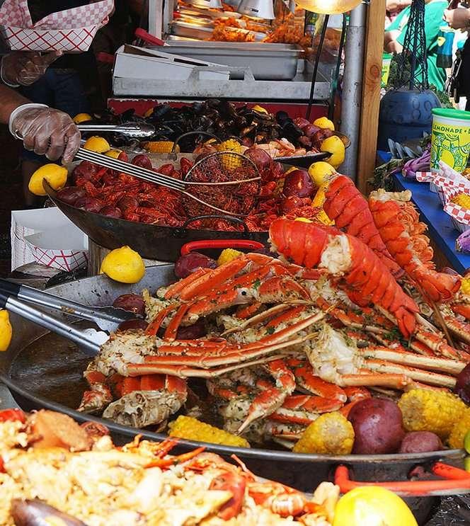 Image: Wine and Seafood Festival, lakeridgewinery.com
