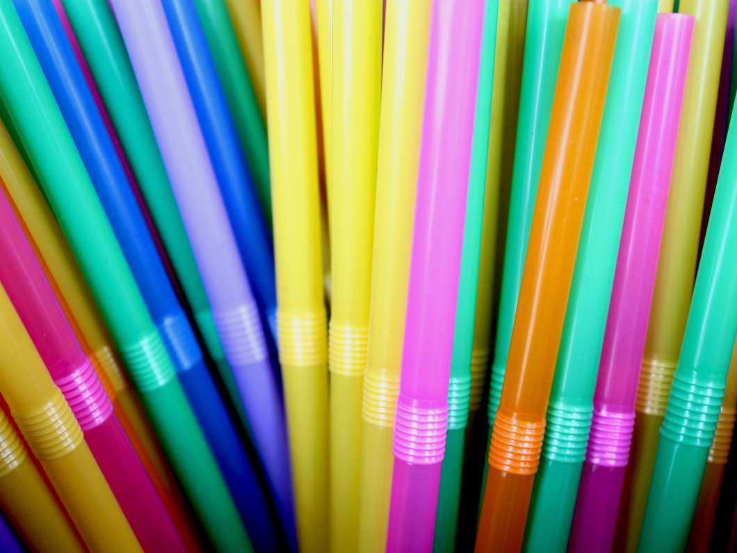 Plastic straws set to be banned in England