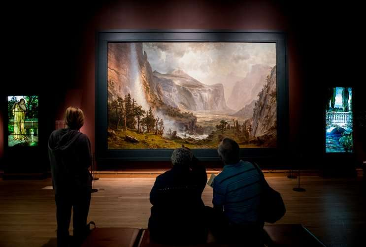 Image: The Domes of the Yosemite, by Albert Bierstadt, morsemuseum.org