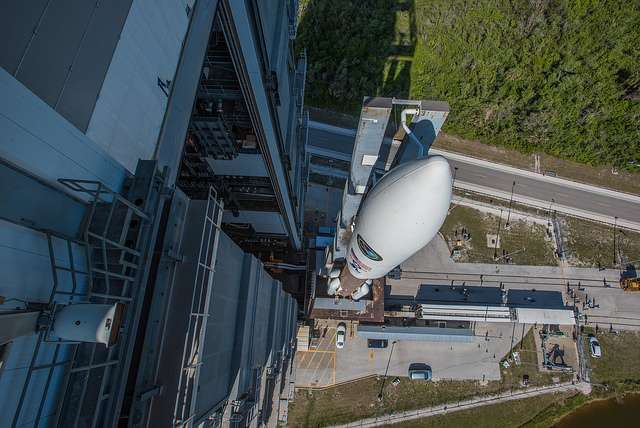 Days after Atlas V launch, United Launch Alliance workers go on strike