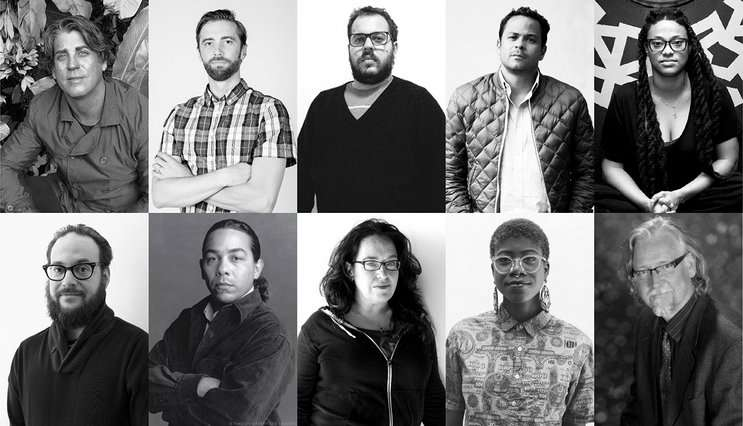 Image: The 2018 Florida Prize artists, omart.org