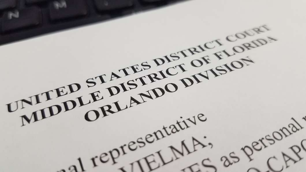 The lawsuit was filed in federal court in Orlando Thursday. Photo: Brendan Byrne