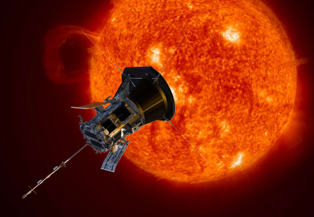 Parker Solar Probe artist rendering. Photo: NASA/Johns Hopkins APL/Steve Gribben