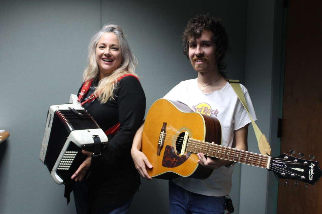 Beth McKee and Grant Peyton. Photo: Matthew Peddie, WMFE