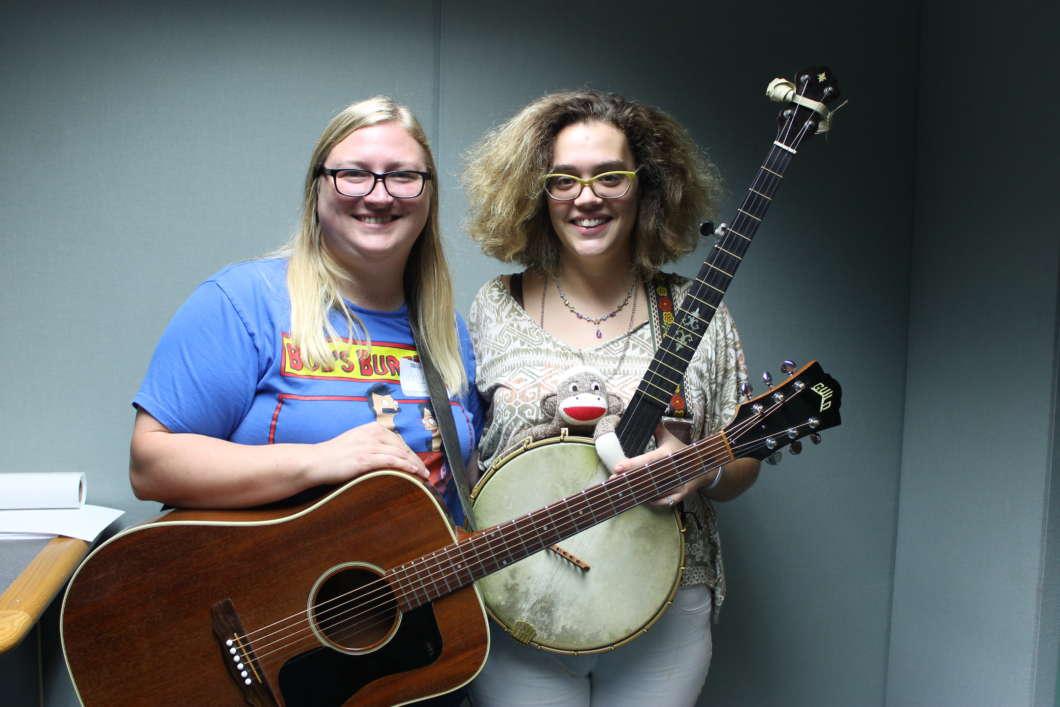 Amy Robbins (l) and Gailanne Amundsen. Photo: Matthew Peddie, WMFE