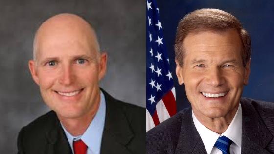 Governor Rick Scott and Senator Bill Nelson.
