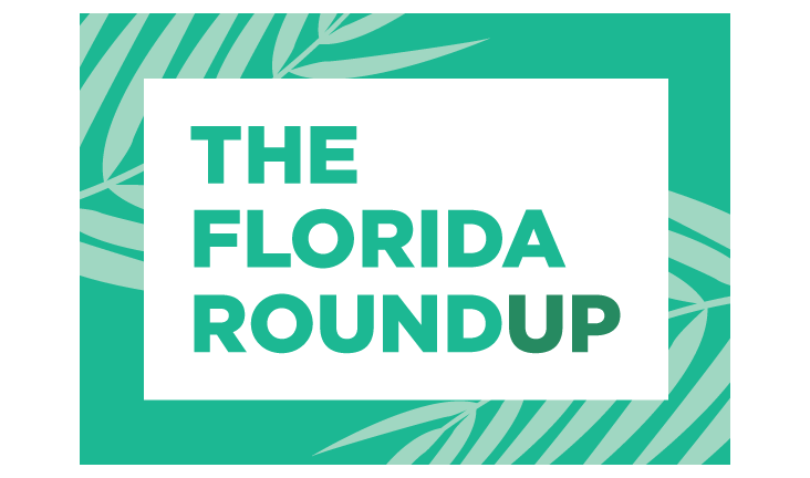 The Florida Roundup will air at noon Friday on 90.7 WMFE