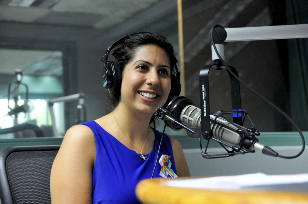 Anna Eskamani, a Democrat, is running for election in Florida's House District 47. Photo: Isaac Babcock, WMFE