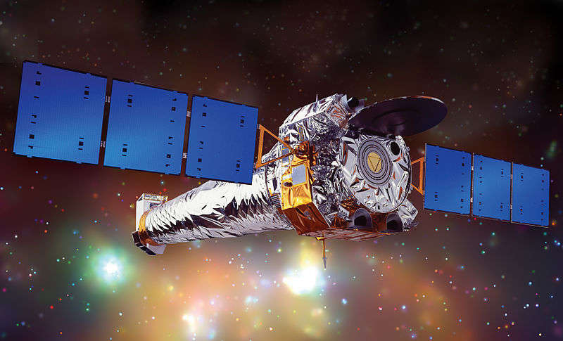 Artist illustration of the Chandra X-Ray telescope. Photo: NASA