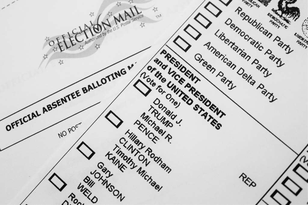 File photo of mail-in ballot. Photo: Frankie Leon / Flickr / Creative Commons