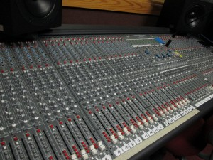 live music studio board