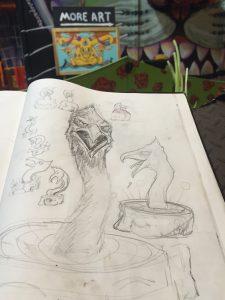 Sketch of the phoenix