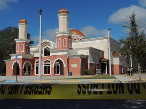 hate crime mosque fire mosque arson