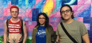 Democratic Socialists On Radioactivity Christian Brooks Cara Malin Justin Garcia