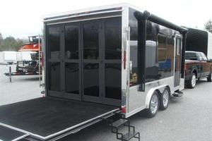 New Enclosed Trailer 2013 Gambler 8.5x16 with Living Quarters