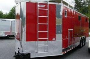 New 2014 Freedom Enclosed Trailer with Finished Interior