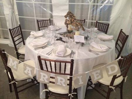 Offer table and chair rentals