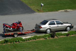 Maximize Your Motorcycle Time When You Use Motorcycle Trailers