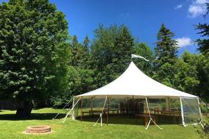 Birthday Party Tent Set Up