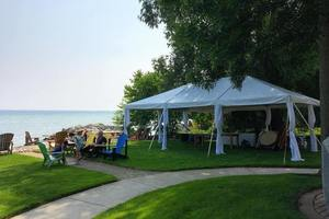 We rent event tents of all shapes and sizes