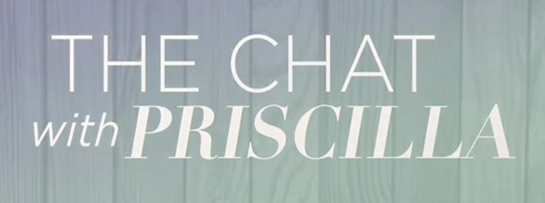 Chat With Priscilla Blog Banner