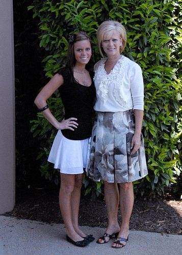 Linda and Shelby at church
