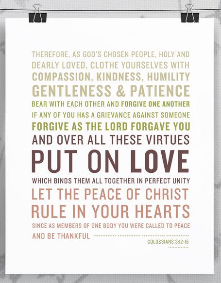 Colossians 3 Print