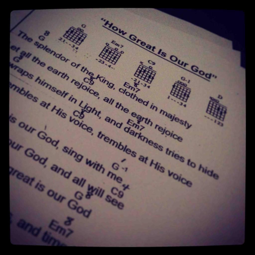 chordsheet