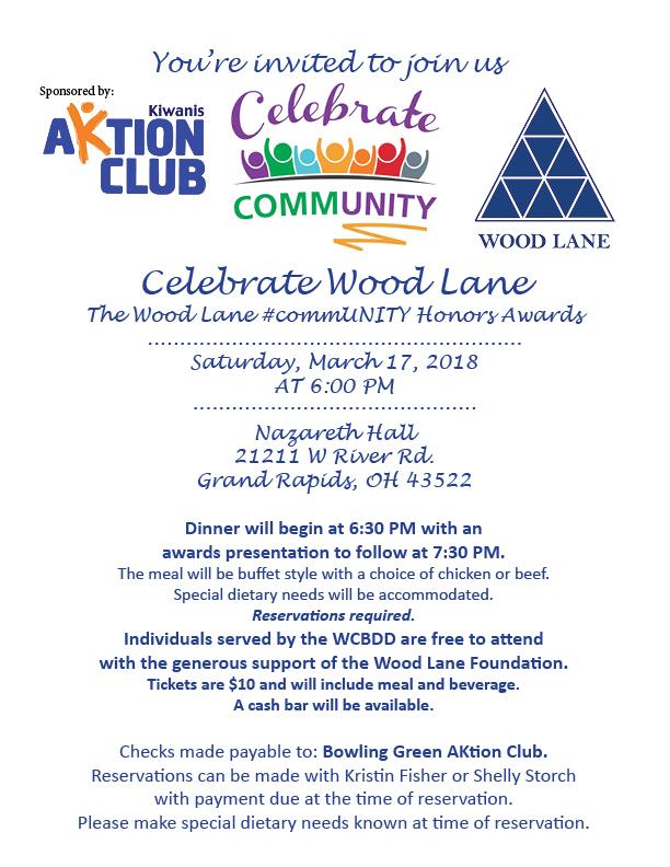 Comm Unity Honors Awards Invitation